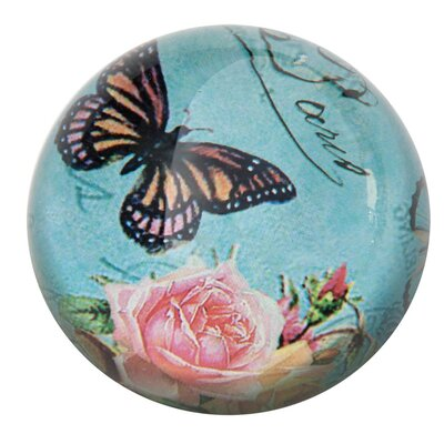 DUSX Vintage Glass Paper Weight