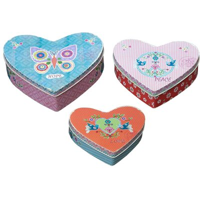 DUSX Vintage Heart 3 Piece Box Set