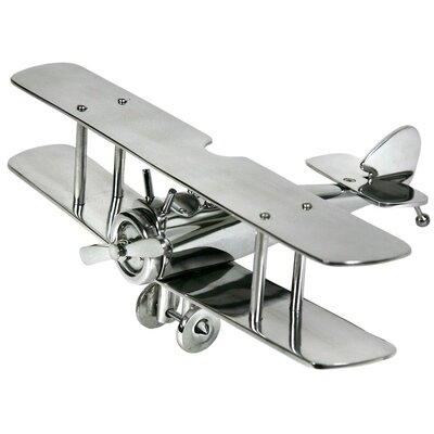 DUSX Aluminium Ornament Bi-Plane