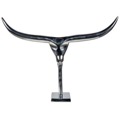 DUSX Aluminium Bull on Stand Statue