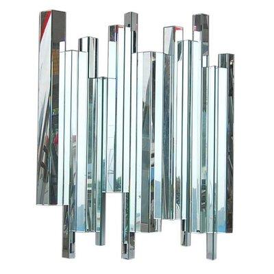 DUSX Venetian Contemporary Multifaceted Column Mirror