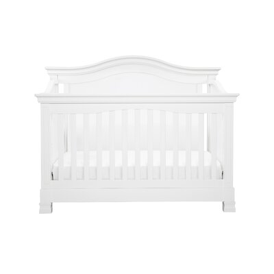 Louis 4-in-1 Convertible Crib Color: White