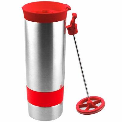 The Hot Press Coffee Maker Color: Lipstick Red