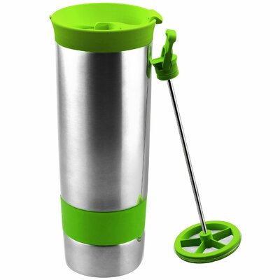 The Hot Press Coffee Maker Color: Jelly Lime