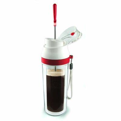 The Modern Press Coffee Maker Color: Lipstick Red