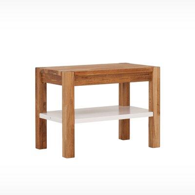 """Harvest Wood Storage Bench Size: 18"""" H x 24"""" W x 14"""" D"""