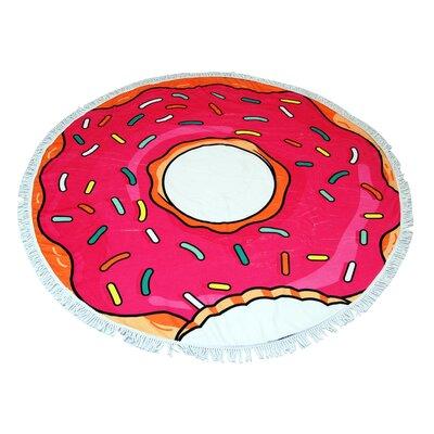 Centofanti Donut Round Beach Towel
