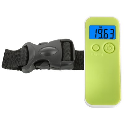Green Wash Luggage Scale