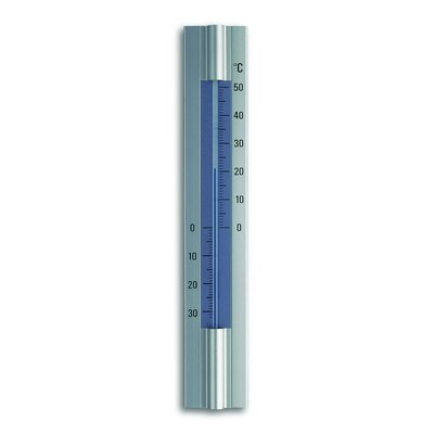 Green Wash Cased Thermometer