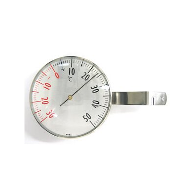 Green Wash Analogue Window Thermometer