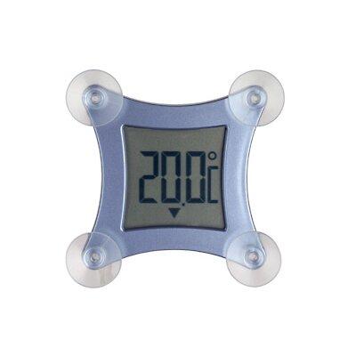 Green Wash Poco Digital Window Thermometer