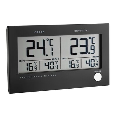 Green Wash Twin Display Thermometer