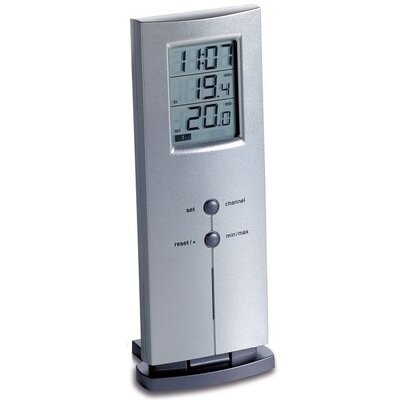 Green Wash Logo Wireless Digital Thermometer