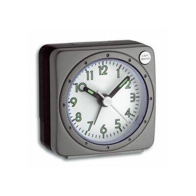 Green Wash Analogue Snooze Alarm Clock