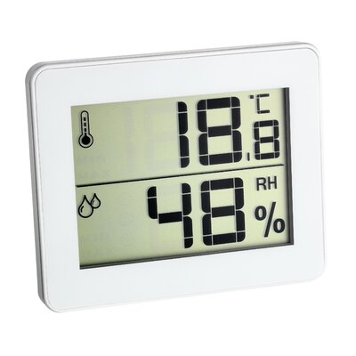 Green Wash Ultra Thin Thermo - Hygrometer