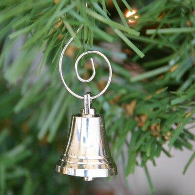 Chrome Bell Christmas Tree Ornament