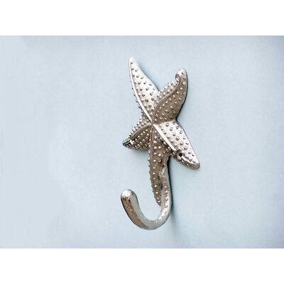 Ophelie Starfish Wall Hook Finish: Chrome