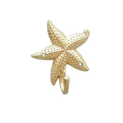 Ophelie Starfish Wall Hook Finish: Brass