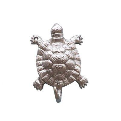 Reggie Turtle Wall Hook Finish: Brushed Nickel