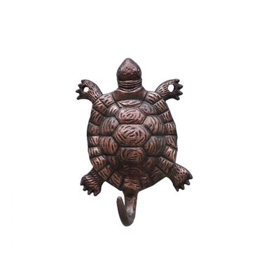 Reggie Turtle Wall Hook Finish: Antique Copper
