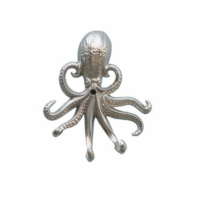 Keven Octopus Wall Hook Finish: Chrome