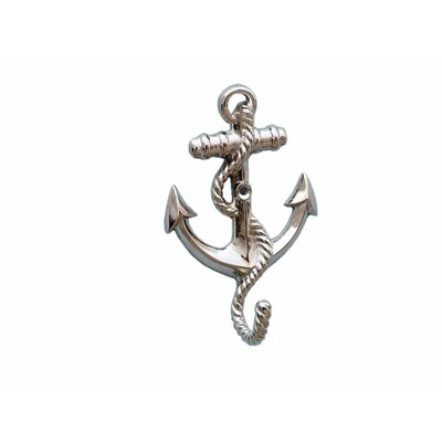 Westbury Anchor with Rope Wall Hook Color: Chrome