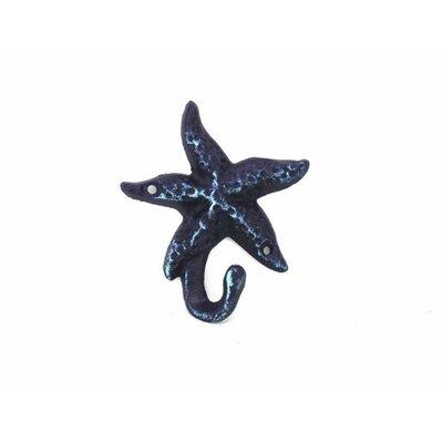 Janmarie Starfish Wall Hook Finish: Dark Blue