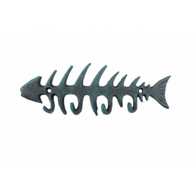 Fish Bone Wall Hook Finish: Bronze
