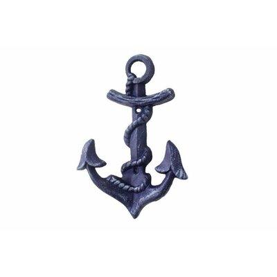 Anchor Wall Hook Color: Purple