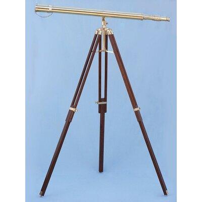 Handcrafted Nautical Decor Galileo Stand Refractor Telescope