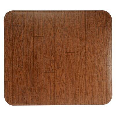 "Stove Board Finish: Woodgrain, Size: 1"" H x 36"" W x 36"" D"