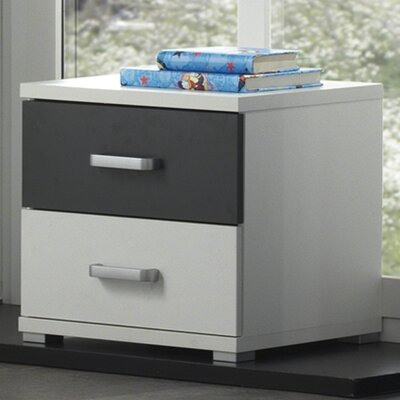 Home Etc Juanelo 2 Drawer Bedside Table