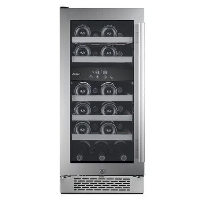 23 Bottle Dual Zone Convertible Wine Cooler
