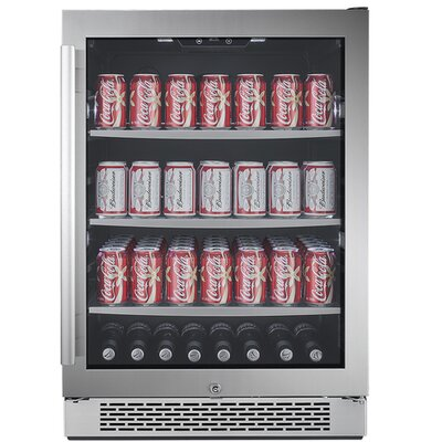 24-inch 5.5 cu. ft. Undercounter Beverage Center