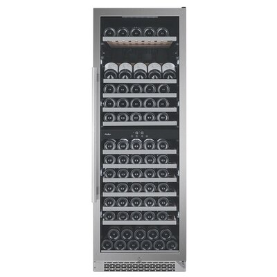 141 Bottle Dual Zone Built-In Wine Cellar