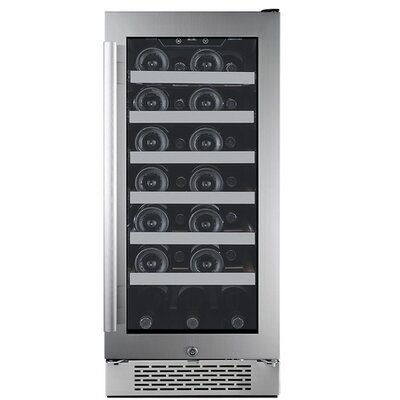 27 Bottle Single Zone Built-In Wine Cooler