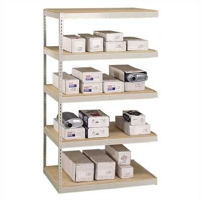 "Penco Muffler Storage 84"" H 4 Shelf Shelving Unit Add-On"
