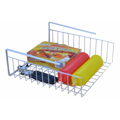 Wire Basket Kitchen Organizer for Under Shelf Storage