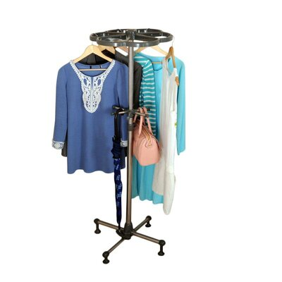 Clothes and Storage Coat Rack