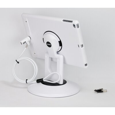 Locking iPad Air and iPad Air 2 Station Stand Finish: White
