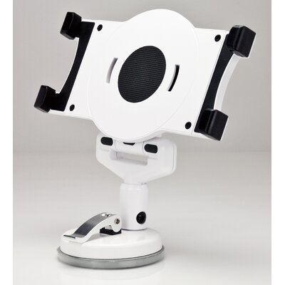 Universal Tablet Suction Stand Finish: White