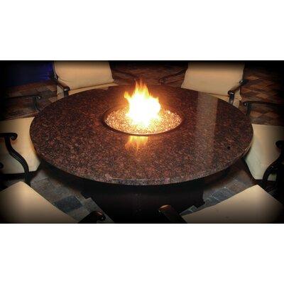 Alfresco Naples Aluminum Natural Gas Fire Pit Table