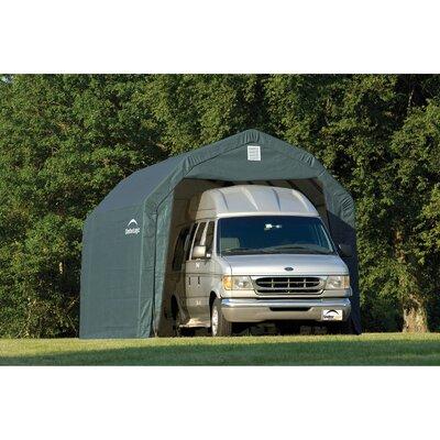 Garage Size: 11', Color: Green