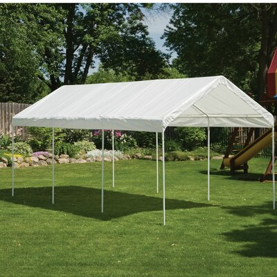 Max AP 10 Ft. W x 20 Ft. D Canopy Color: White