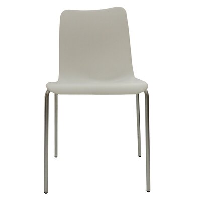 Leo Side Chair Finish: White