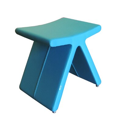 PI Cat A Oslo Fabric Stool Color: Turquoise