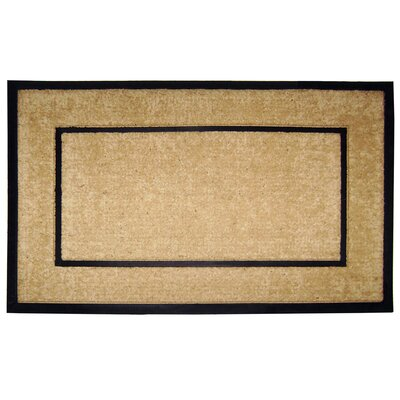 Creative Accents DirtBuster Single Picture Frame Doormat