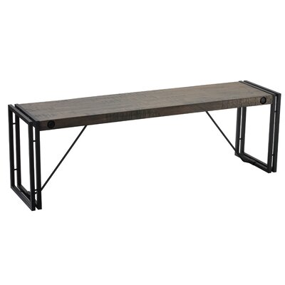 Thayer Metal/Wood Bench