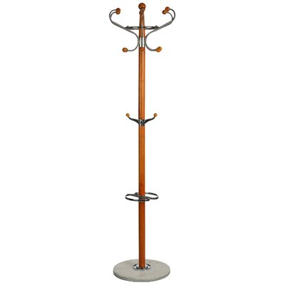 Optima Marble Coat Rack Finish: Light Natural