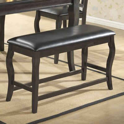 Burgos Upholstered Bench Color: Gray